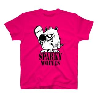 オオカミくんがSTAFF T-shirts