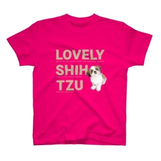 ラブリーシーズー ぽんず #1127 T-shirts