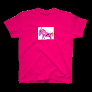 うまちゃんのおてんばホース T-shirts