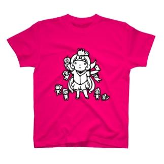 らくがきシリーズ★魔女白雪姫 T-shirts
