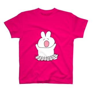 スナックくまちゃん元気なうさこ T-shirts