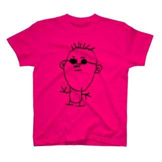 SAKABEさん(グラサン着用) T-shirts