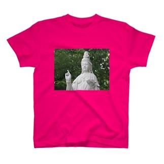 観音様グッズ T-shirts