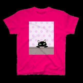 キャッツハンド:suzuriショップの黒猫PUKU T-shirts