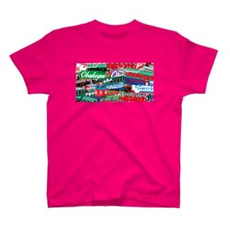 obakogei ボム T-shirts