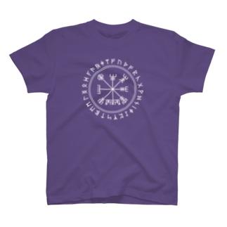 ルーン文字&ヴィグヴェシル T-shirts