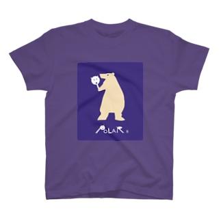 シロクマTシャツ T-shirts