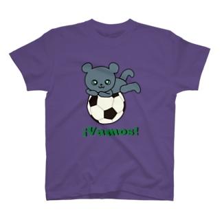 ボランチのこぐま2(vamos) T-shirts