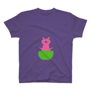 カンガルー赤ちゃん T-shirts