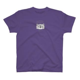 わんこ 濃背景用 T-shirts