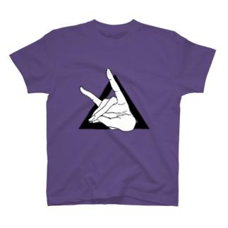 手遊び狐△ T-shirts