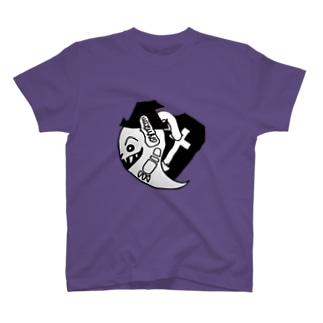ばけを ハロウィン デザイン T-shirts