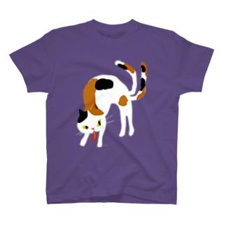 おばけTシャツ<大きい猫又> T-shirts
