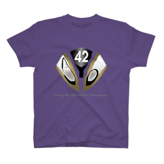 Team長野オフィシャルSUZURIショップのS1000RRフェイス T-shirts