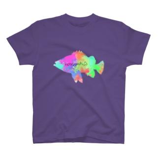 テトラポッヅロゴ(メバル) T-shirts