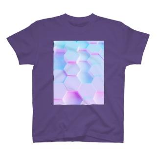 momo_emi 蜂の巣 T-shirts