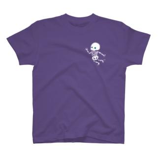 おばけTシャツ<ガイコツ> T-shirts