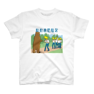 おじさん危ない Tシャツ
