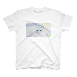 ふわっふわねこ Tシャツ