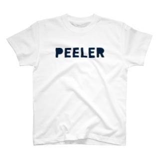 PEELER - 04(Navy) Tシャツ