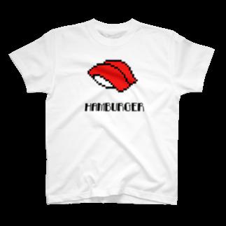 KSWKのまぐろ(赤身)Tシャツ