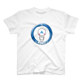 りっぴぃくん Tシャツ