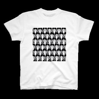 MOGUMO SHOPの社畜ねずみくん Tシャツ