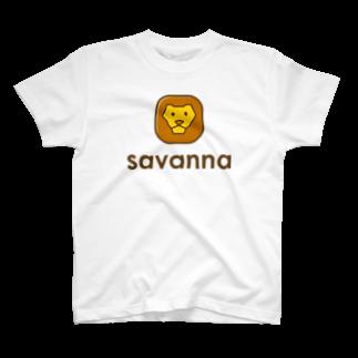 willnetのsavanna Tシャツ