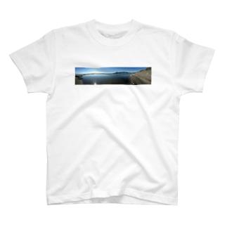 静かな海 Tシャツ
