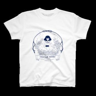 mountain-gardenのひなぎく Tシャツ
