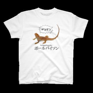 鰐◆WANIの滅裂爬虫類 Tシャツ
