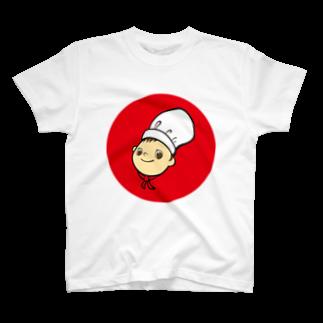 plusworksのコックさん Ver.1Tシャツ