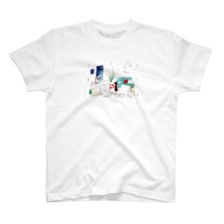 ちるとしふと/裏表紙 Tシャツ