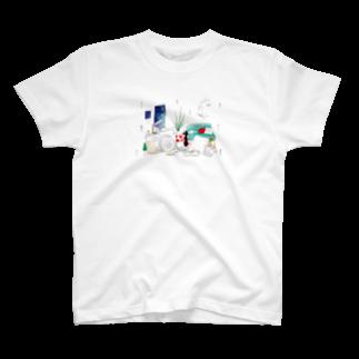 khgchrのちるとしふと/裏表紙 Tシャツ
