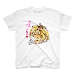 気合十分♡ Tシャツ