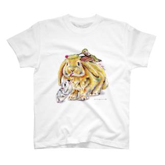 気合十分♡(文字なし) Tシャツ