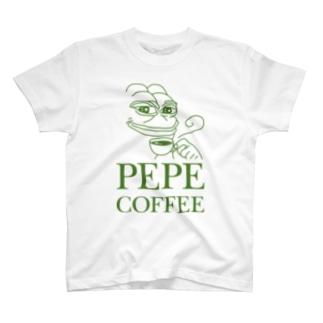 PEPE COFFEE(ペペコーヒー)Tシャツ Tシャツ