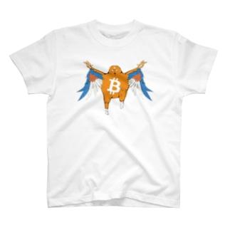ビットコイン君BFバージョン Tシャツ