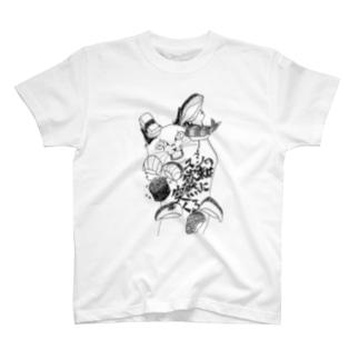 スシの欲求は突然にくる Tシャツ