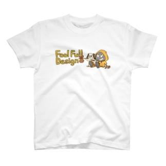 fool&dog ロゴカラー Tシャツ