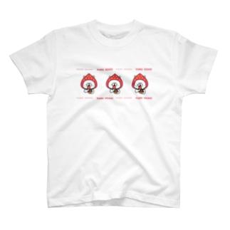 ゆるうさぎ いちご。 Tシャツ