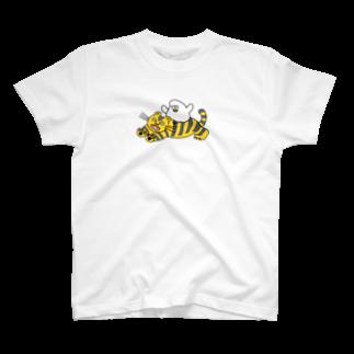 mugny shopの虎視眈々 Tシャツ