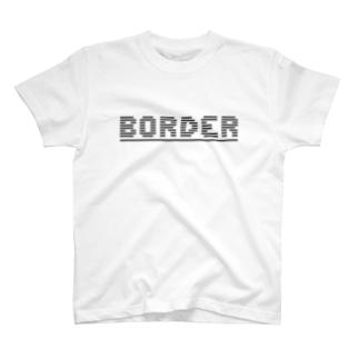 BORDER Tシャツ
