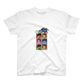 POP♥VANILLA Tシャツ