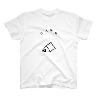 三角のテント Tシャツ