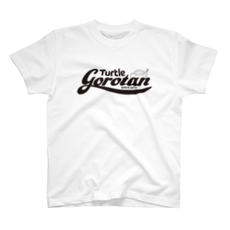 gorotan LOGO Black Tシャツ