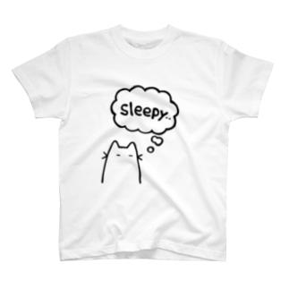 ねむたい Tシャツ