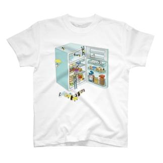 penguin refrigerator Tシャツ