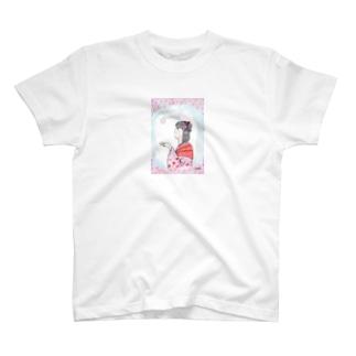 「ひ・と・ひ・ら」 Tシャツ
