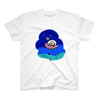 ふらふら宇宙 Tシャツ